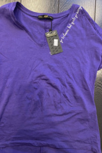 Fioletowa bluzka...