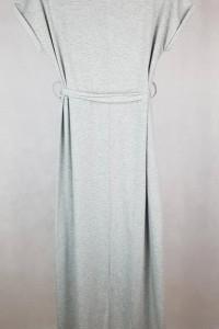 Szara asymetryczna sukienka M