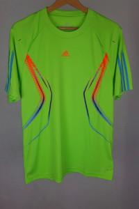 Nowa koszulka neonowa piłkarska Adidas M...