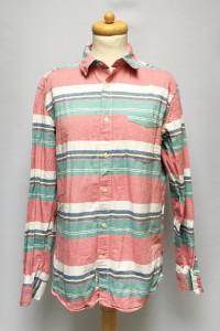 Koszula H&M Paski Kolorowa Męska M Regular Letnia...