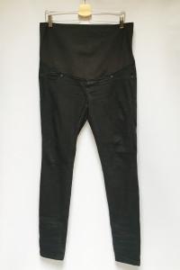 Spodnie Tregginsy XL 42 Czarne Rurki H&M Mama Ciążowe...
