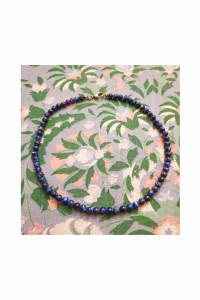 Naszyjnik koraliki lapis lazuli...