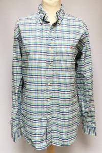 Koszula Męska Kratka Ralph Lauren L RL Kratkę...