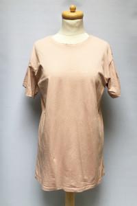 Bluzka T Shirt Napis Koszulka Brudny Róż M 38 Primark...