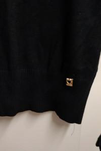 Czarny sweterek Cocomore