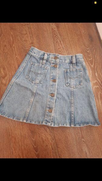 Spódnice Mini jeans