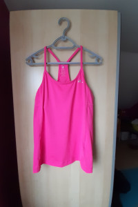 Adidas różowy top sportowy