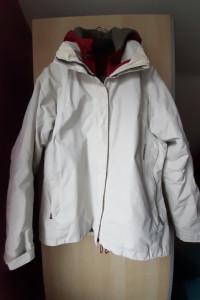 Didriksons biała kurtka dwuwarstwowa rozmiar 38