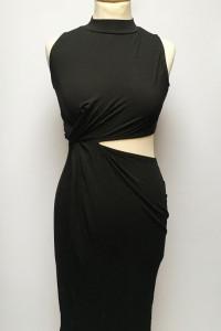 Sukienka NOWA Czarna Asos S 36 Ołówkowa Golf...