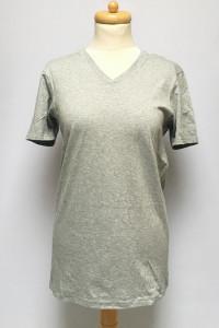 Bluzka Koszulka DKNY Szara T Shirt S Bawełna Szarość Men