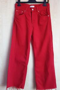 Czerwone spodnie Zara 36...