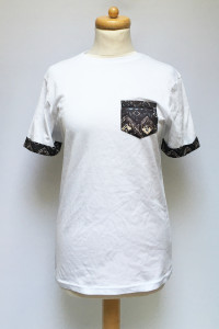 Bluzka Biała T Shirt S Aztec Koszulka Męska Men...