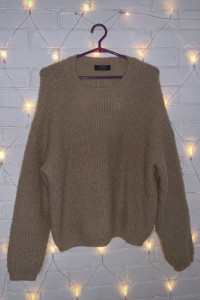 Sweter Karmelowy Vintage...