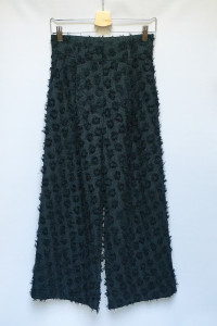Spodnie Czarne H&M S 36 Proste Nogawki 7 8 Włochate...