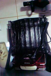 sliczna nablyszczana MAHEL torebka listonoszka NOWA