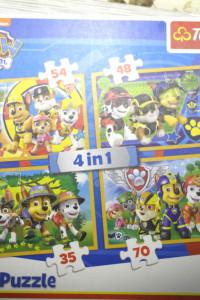 Puzzle 4w1 Psi Patrol Trefl...