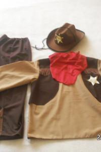 strój kowboja