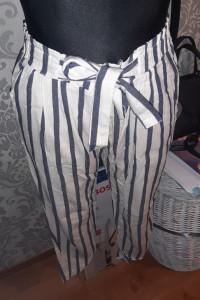 Spodnie w paski...