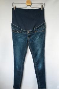 Spodnie Ciążowe Dzinsy H&M Mama Rurki Ciąża M 38 Skinny...