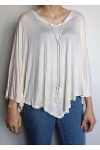 Biała bluzka H&M oversize...
