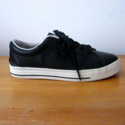 Sportowe Czarne Adidasy 36