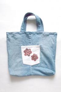 dżinsowa torba eko torba z dzinsu...