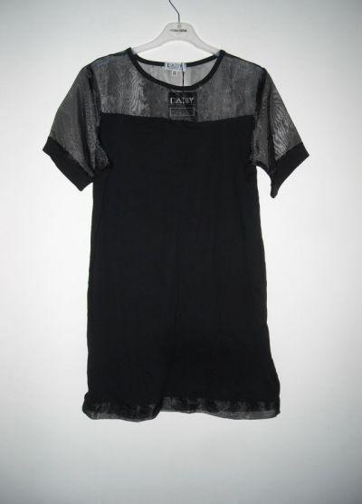 Tuniki czarna tunika siateczka m