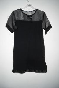 czarna tunika siateczka m