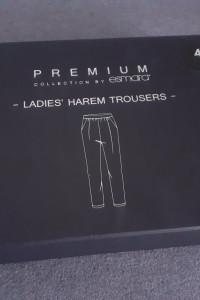 Nowe luźne spodnie welurowe kieszenie czarne grafitowe rozmiar 44