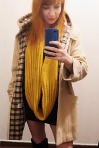 Damski płaszcz...