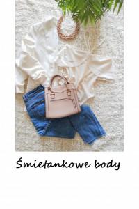 Eleganckie body basic minimalizm S M...