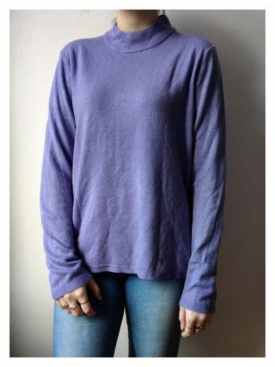 Swetry Fioletowy sweterek Papaya