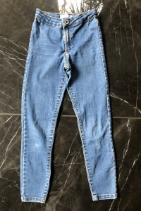 ZARA Kids spodnie jeansy slim fit rozm 134 cm na 9 lat stan BDB...
