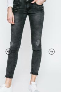 Hailys jeansy czarne L...