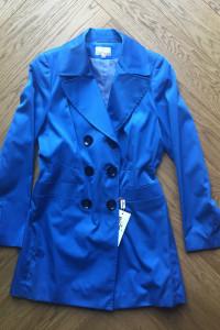 Kobaltowy płaszczyk wiosenny...