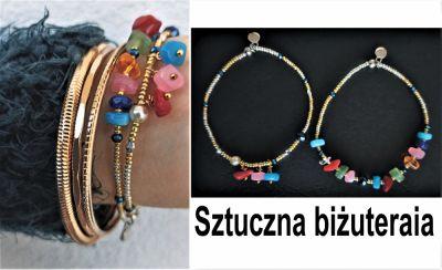 Bransoletki Kolorowe bransoletki sztuczna biżuteraia