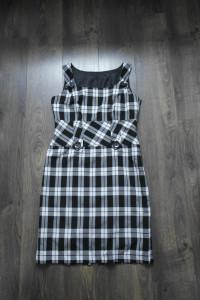 Sukienka w dużą kratę 42...