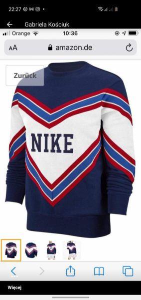 Ubrania Nike nsw nsp crew bluza
