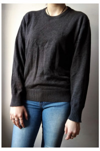 Szary sweterek bluzka Park unisex...