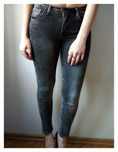 Spodnie Czarne spodnie skinny