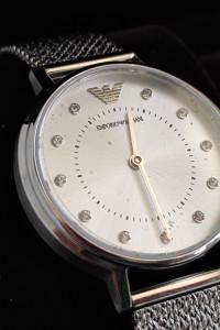 Zegarek damski Emporio Armani Kappa kolczyki AR80029
