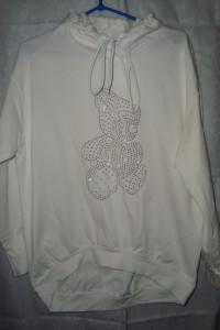 Nowa bluza miś cyrkonie roz M