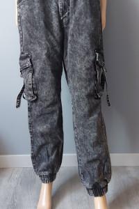 Spodnie Jeans Ocieplane Bershka 38 M...