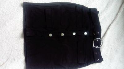 Spódnice Spódnica zapinana na guziki