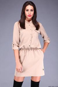 Szmizjerka sukienka 38 la blanche sexy...