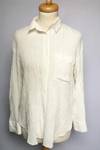 Koszula Biała Elegancka H&M M 38 Do Pracy Wizytowa...