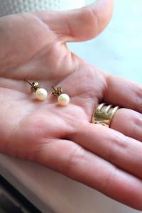Yes Verona kolczyki złoto 333 perły...