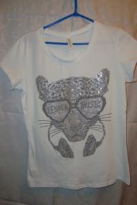 Nowa bluzka tygrys roz S