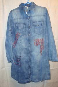 Sukienka jeansowa perełki roz M...