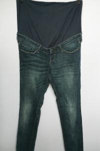 Spodnie H&M Mama Dzinsowe Slim M 38 Jeansowe Ciążowe...